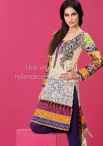Pakistani Kurti in Lawn Cotton and Emroidery