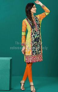 Printed Lawn Cotton Pakistani Kurti