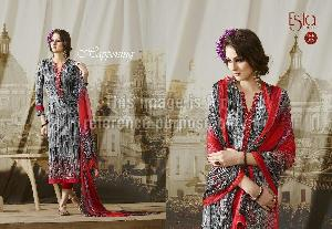 Sahiba's Embroidered Cotton Suit
