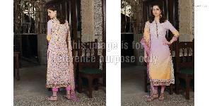 Embroidered Pure Cotton Suit