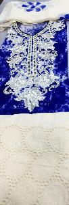 Designer Printed Suit in Cotton Fabric