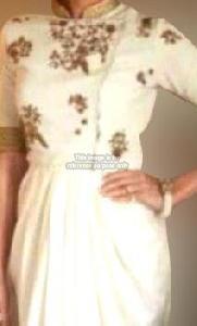 Glamorous Off-White Dress
