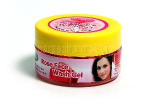 Rose Face Wash Gel