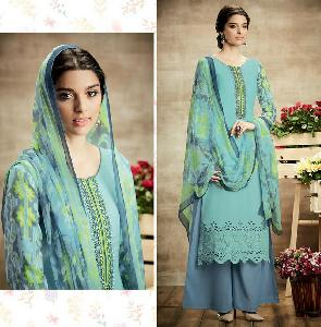 Pure Soft Cotton Designer Salwar Kameez