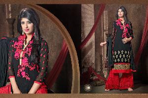 Georgette Semi Stitched Salwar kameez (MOQ 8 Piece Full Catalog)
