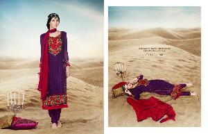 Faux Georgette Designer Salwar Kameez