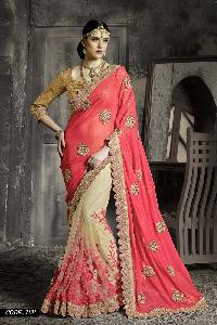 Net & Georgette Designer Saree
