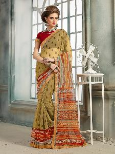 COTTON DESIGNER SAREE