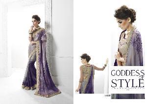 Art Silk Designer Saree MH ELO 9410