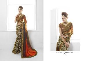 Art Silk Designer Saree MH ELO 9411