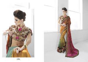 Art Silk Designer Saree MH ELO 9416