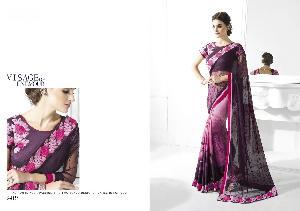 Net & Art Silk Designer Saree MH ELO 9419