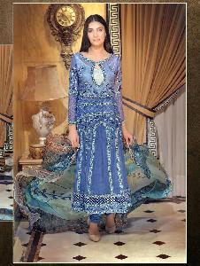 Faux Georgette semiStiched Salwar Kameez SH SEN 2026