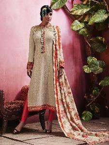 Linen & Shimmer Exclusive Readymade Designer Salwar Kameez
