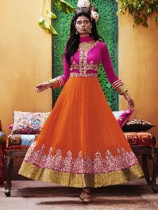 Georgette Tissue Silk Exclusive Readymade Designer Salwar Kameez