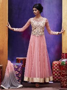Net Tissue Exclusive Readymade Designer Salwar Kameez