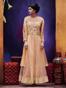 Embroidered Net Exclusive Readymade Designer Salwar Kameez