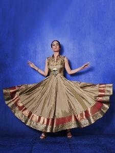 Taffeta Silk  Shimmer  Textured net Exclusive Readymade Designer Salwar Kameez