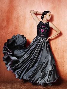 Silk Exclusive Readymade Designer Salwar Kameez