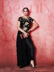 Georgette & Net & Tikki fabric Exclusive Readymade Designer Salwar Kameez