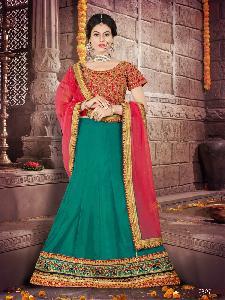 Silk Fabric Lahenga choli