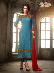 Viscose Georgette Designer Salwar Kameez