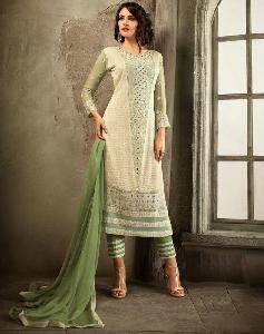 Pure Chiffon Designer Salwar Kameez