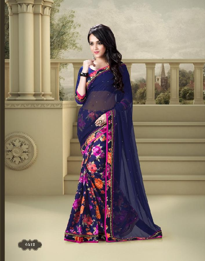 Designer Saree PF 6412