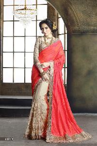 Tussar Silk Designer Saree