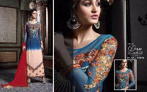 Faux Georgette Designer Salwar Kameez MA AR 7004