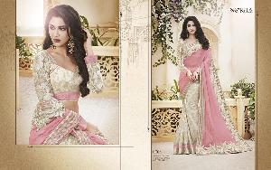 Exclusive Embroidered Saree MA NO BA 8704