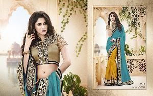 Exclusive Embroidered Saree MA NO BA 8710