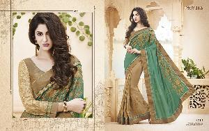 Exclusive Embroidered Saree MA NO BA 8713