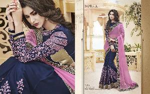 Exclusive Embroidered Saree MA NO BA 8715