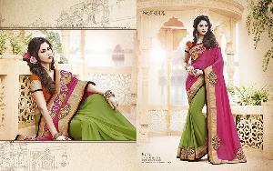 Exclusive Embroidered Saree MA NO BA 8717