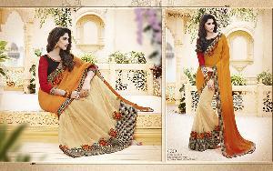 Exclusive Embroidered Saree MA NO BA 8720