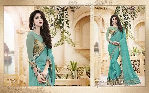 Exclusive Embroidered Saree MA NO BA 8722