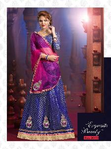 NET WITH CHANDERI INNER LENGHA