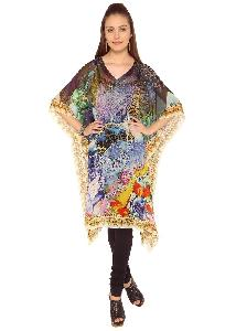 Georgette Fabric Short Kaftans