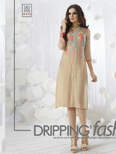 PREMIUM RAYON Embroidered Kurtis
