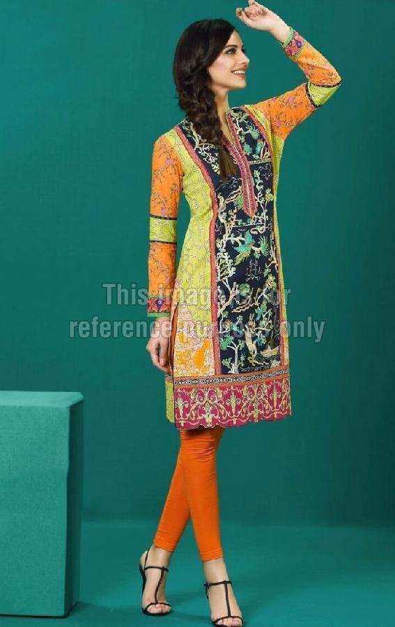 Printed Lawn Cotton Pakistani Kurti