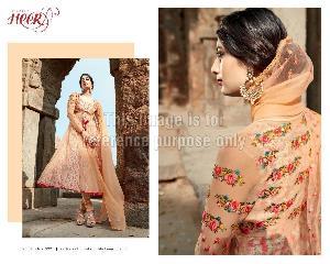 Designer Peach Anarkali