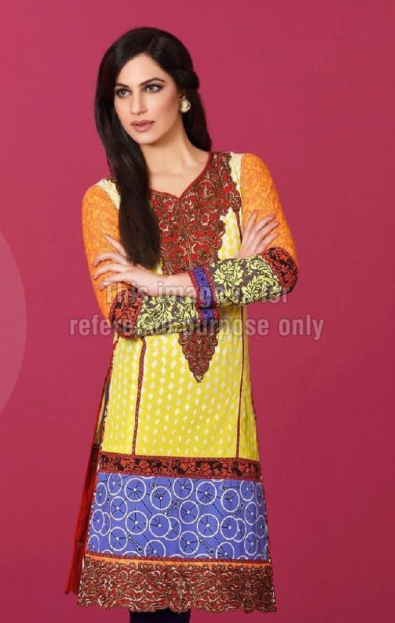 Pakistani Designer Lawn Cotton Kurti