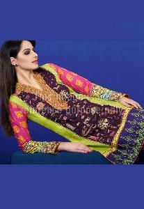Lawn Cotton Embroidered Pakistani Kurti