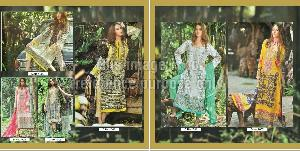 Vintage Suit Collection Cambric Print with Printed Dupatta