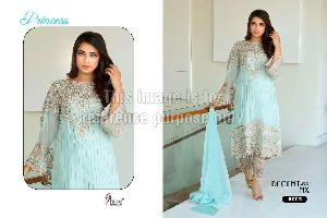 Designer Embroidered Suit in Georgette
