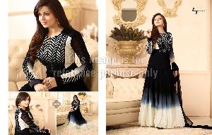 Designer Anarkali Suit With Embroidery