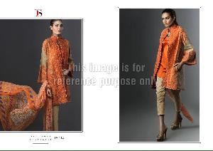 Designer Embroidered Kurti With Dupatta