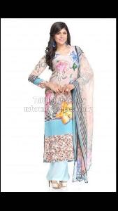 Designer Printed Straight Cut Kurti With Palazzo