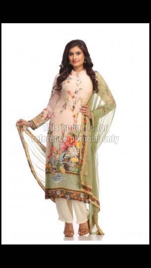 Designer Suit with Floral Print